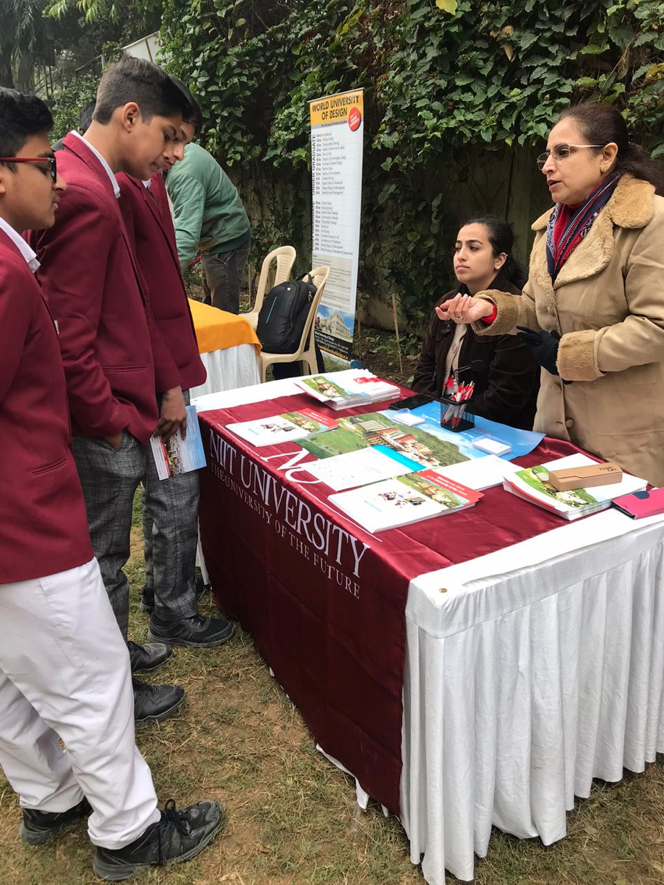 Career fair at Ramjas Rk Puram